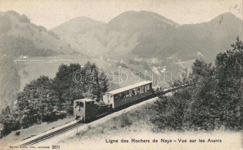 Rochers de Naye, train