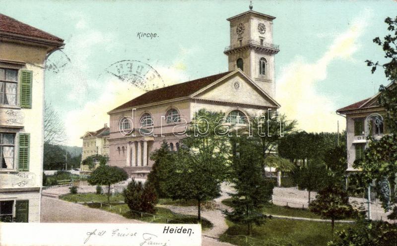 Heiden, Kirche / church