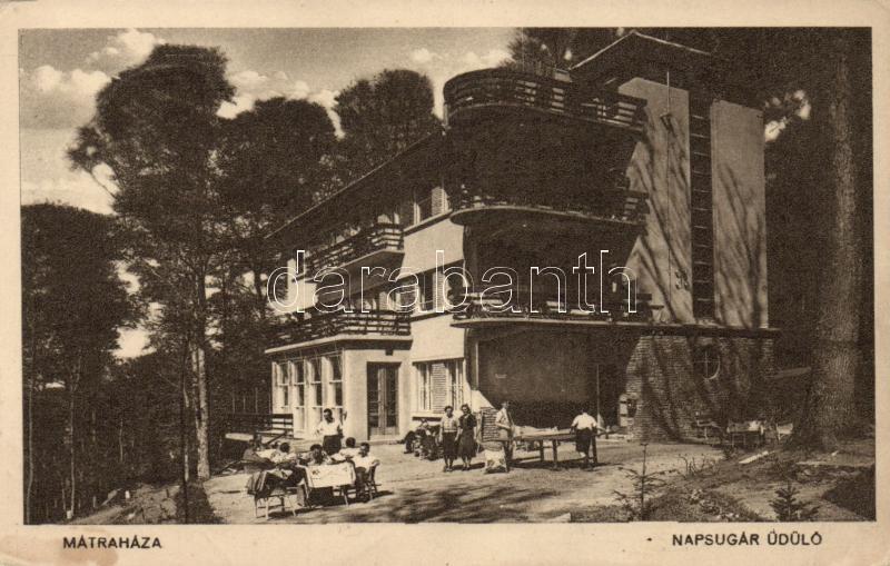 Mátraháza, Napsugár üdülő