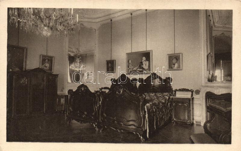 Vienna, Wien XIII. Schönbrunn / castle interior, Franz Joseph's bedroom