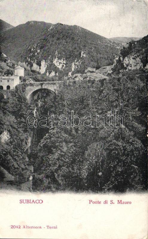 Subiaco, Ponte di S. Mauro / bridge