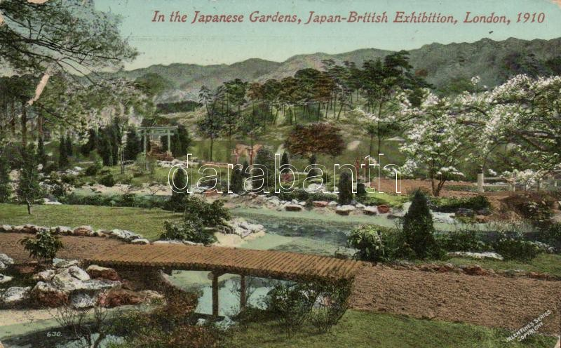 1910 London, Japan-British Exhibition, Japanese Garden