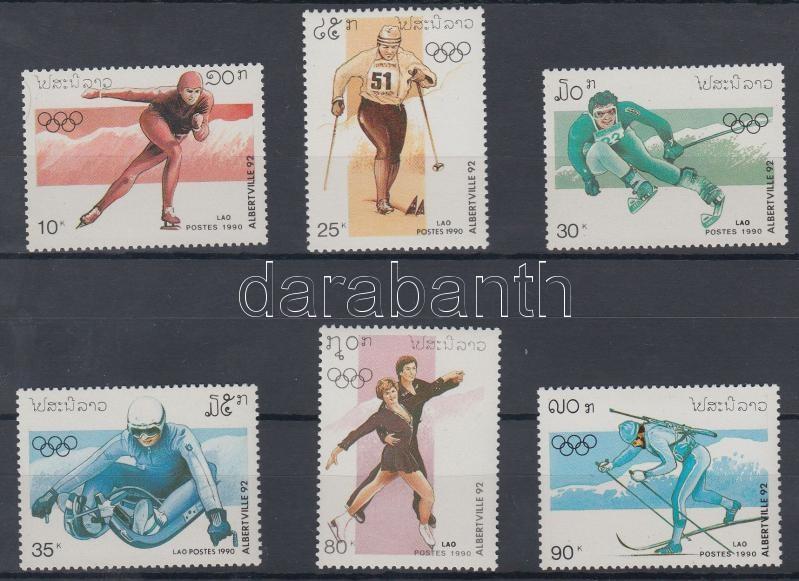 Winter Olympics 1992, Albertville set, Téli olimpia 1992, Albertville sor
