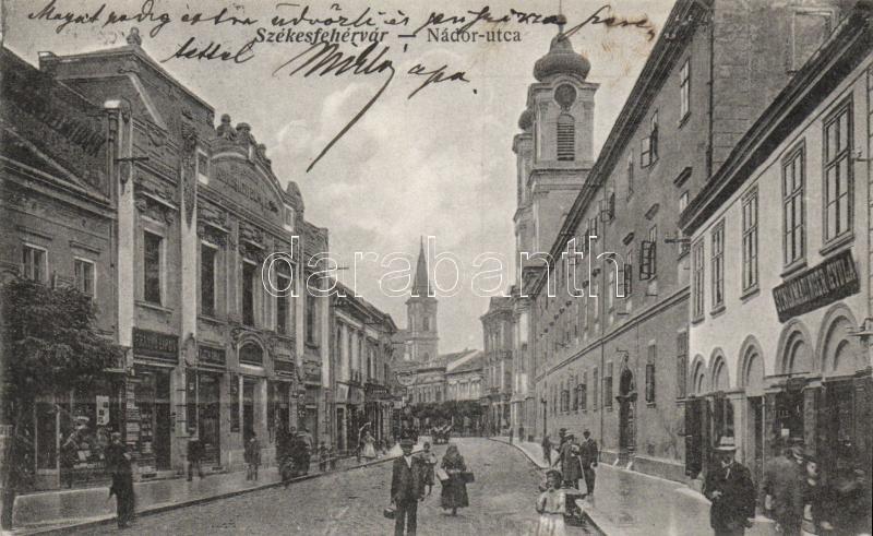 Székesfehérvár, Nádor utca, Schlamadinger Gyula kereskedése