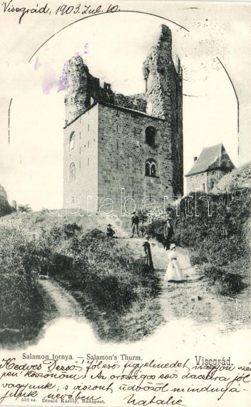 Visegrád, Salamon tornya