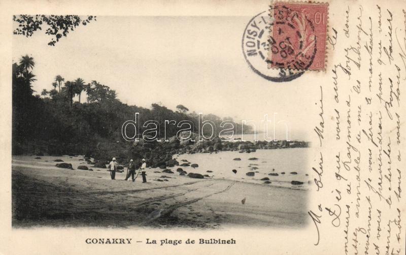 Conakry, La plage de Bulbineh / coast