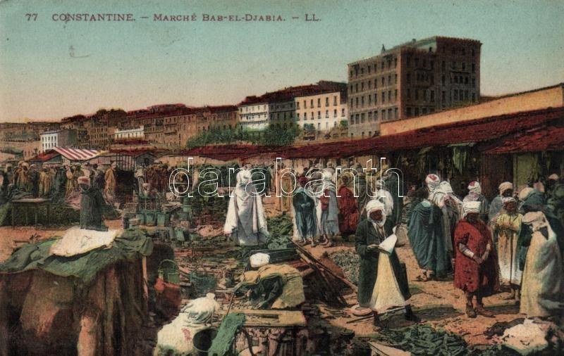 Constantine, Bab El Djabia market