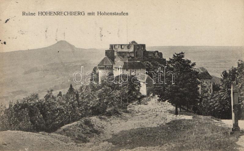 Hohenrechberg Ruine, Hohenstaufen