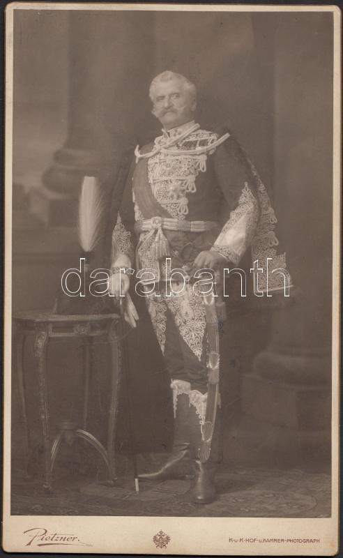 cca 1905 báró Fejérváry Géza miniszterelnök díszmagyarban ...
