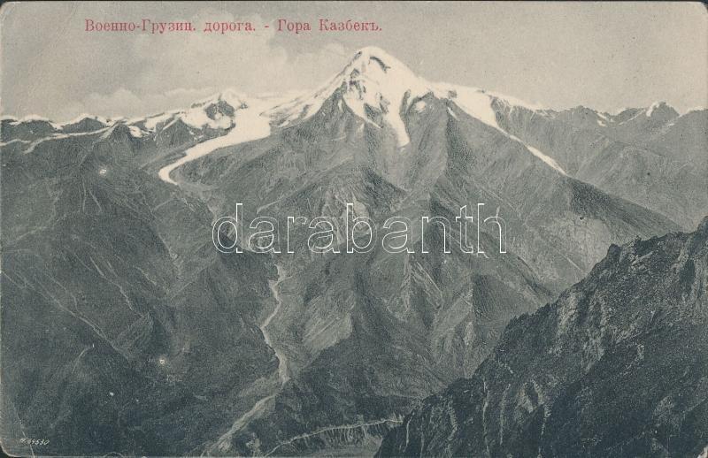 Mount Kazbek, Georgian military road
