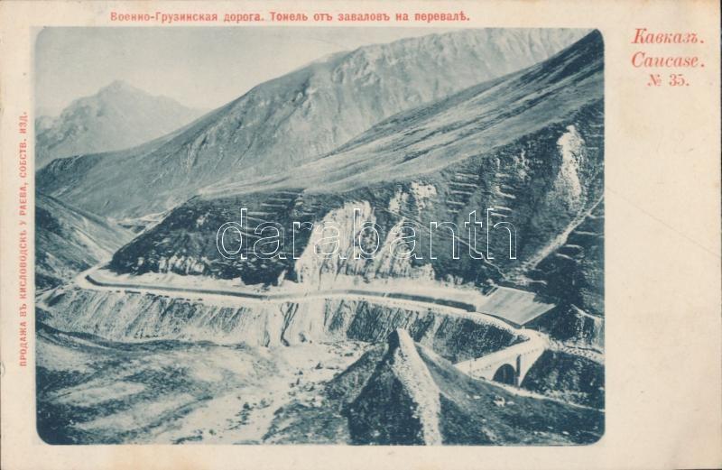 Caucasus, Georgian military road