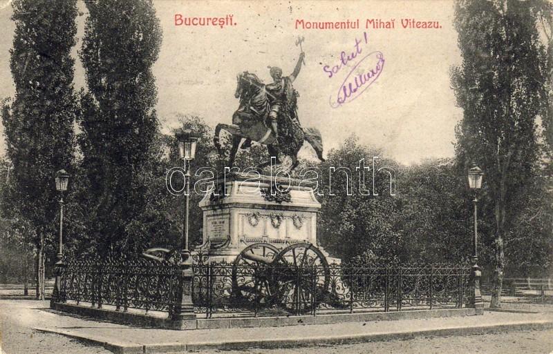 Bucharest Michael the Brave monument, Bukarest II. Mihály havasalföldi fejedelem emlékműve