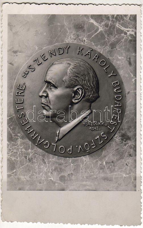 Dr. Szendy Károly emlékplakett photo