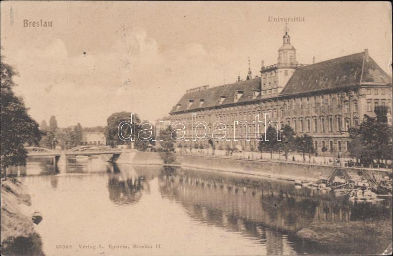 Wroclaw, Breslau; univerity
