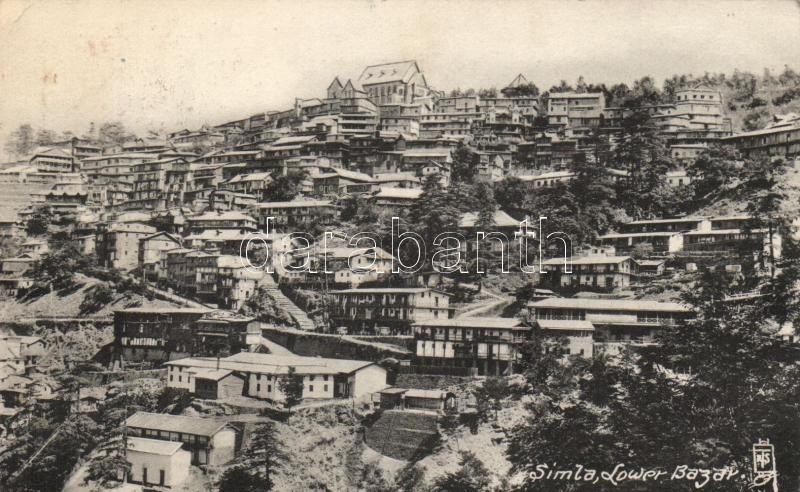 Simla, Shimla; Lower Bazar