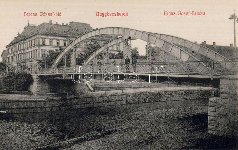 Zrenjanin, Franz Joseph bridge, Nagybecskerek, Ferenc József híd