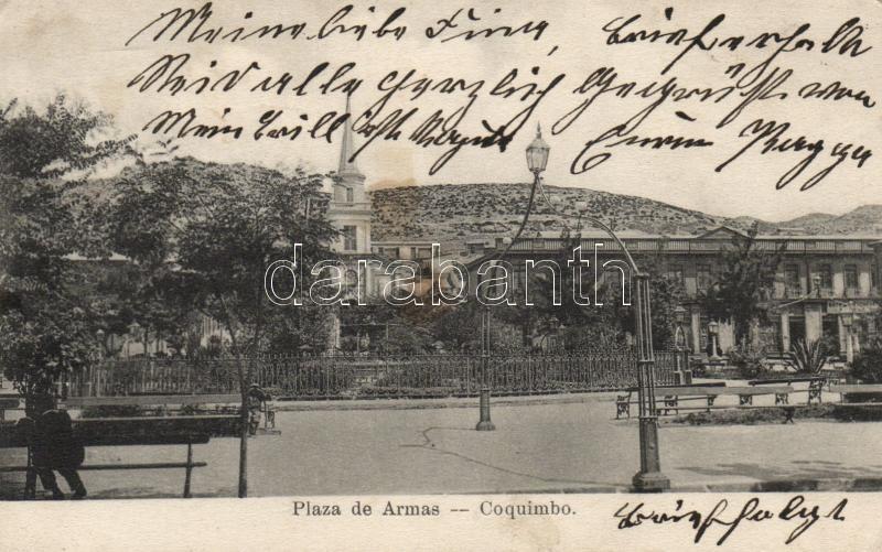 Coquimbo, Plaza de Armas / square