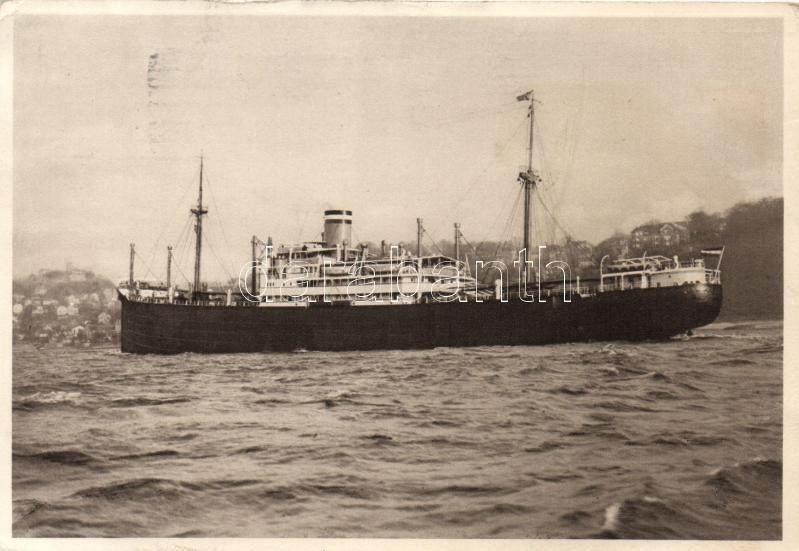 Hamburg-Amerika Linie SS Portland, SS Portland gőzhajó