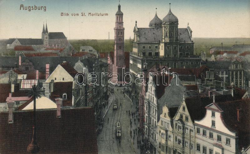 Augsburg vom St. Moritzturm