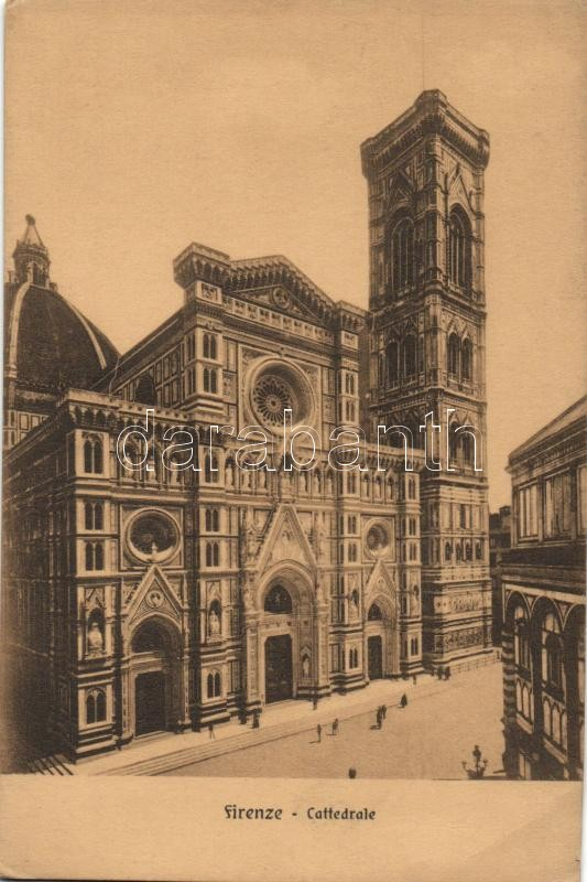 Firenze, Florence; cathedral