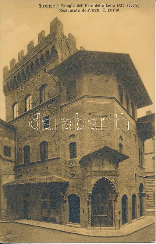Firenze, Florence; Palagio dell'Arte della Lana / palace