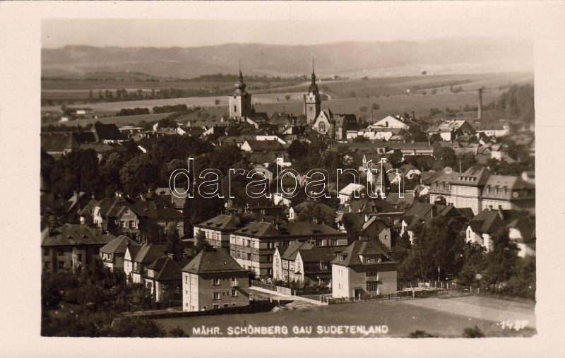 Sumperk (non PC), Mährisch Schönberg, Sudetenland Keine AK