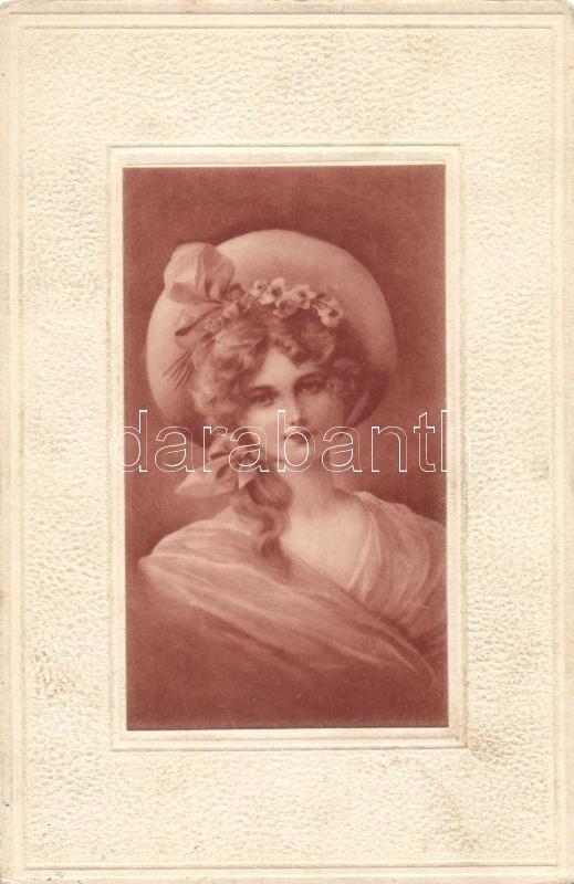 Lady with hat, Hölgy kalappal