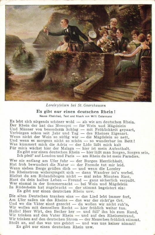 Sankt Goarshausen, Loreleyfelsen,