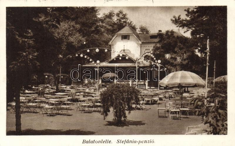 Balatonlelle, Stefánia-penzió