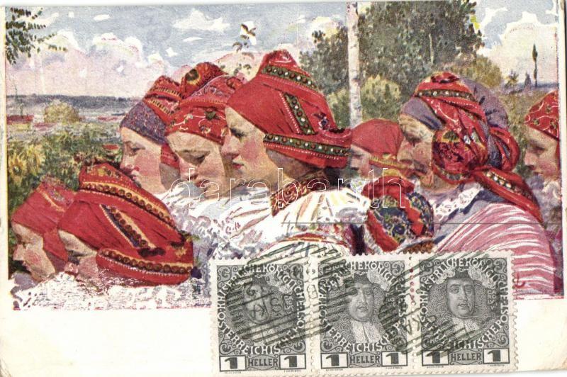 Czech folklore s: Uprka, Cseh folklór, s: Uprka