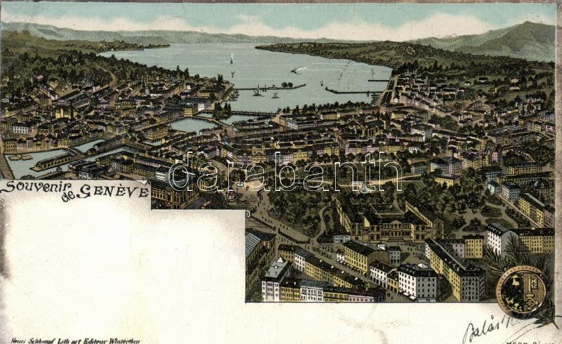 1898 Geneve, litho