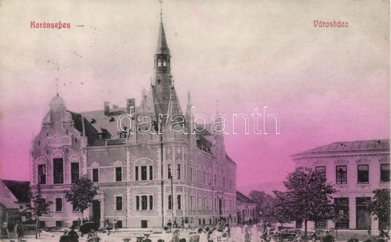 Karánsebes, Városháza, Caransebes, town hall