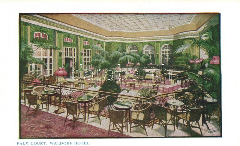 London, Waldorf Hotel Palm Court