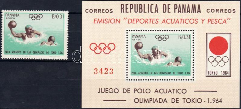 Tokyo Olympics + block, Tokiói olimpia + blokk