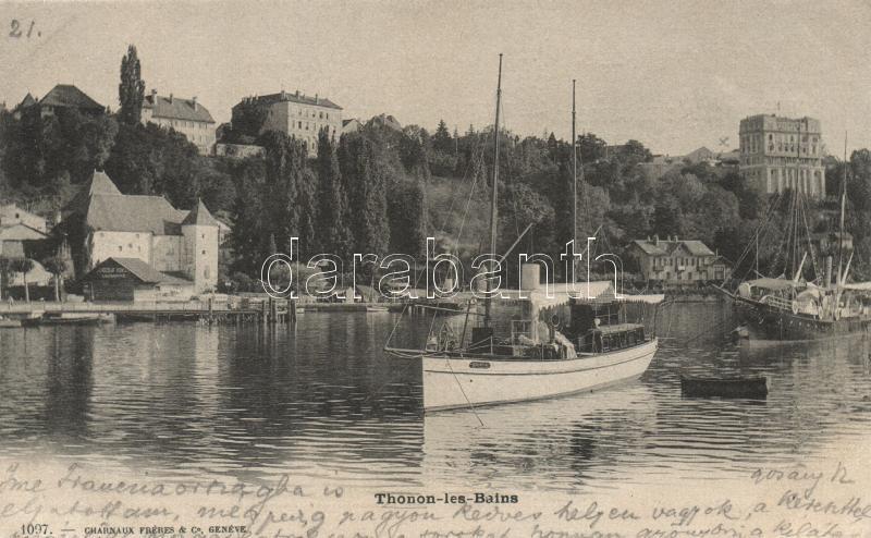 Thonon-les-Bains, ship station