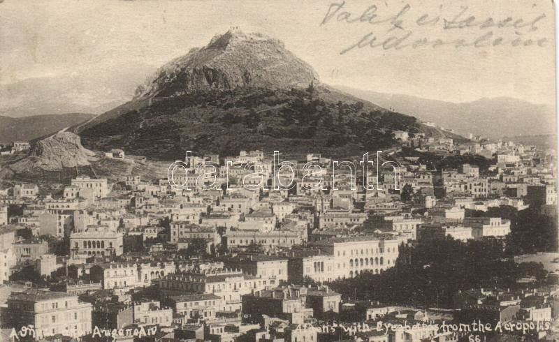 Athens, Mount Lycabettus