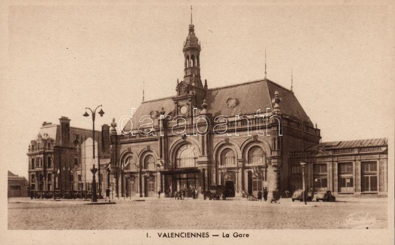 Valenciennes, railway station