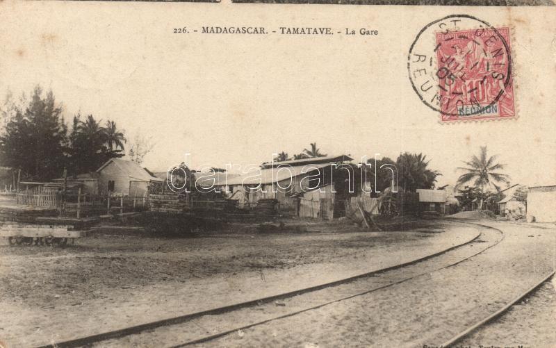 Toamasina, Tamatave; La Gare / railway station