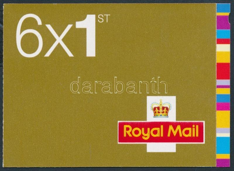 Greeting stamps stamp-booklet with self-adhesive stamps, Üdvözlő bélyegek bélyegfüzet öntapadós bélyegekkel