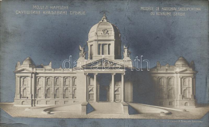 Belgrade, model of national Skupstina