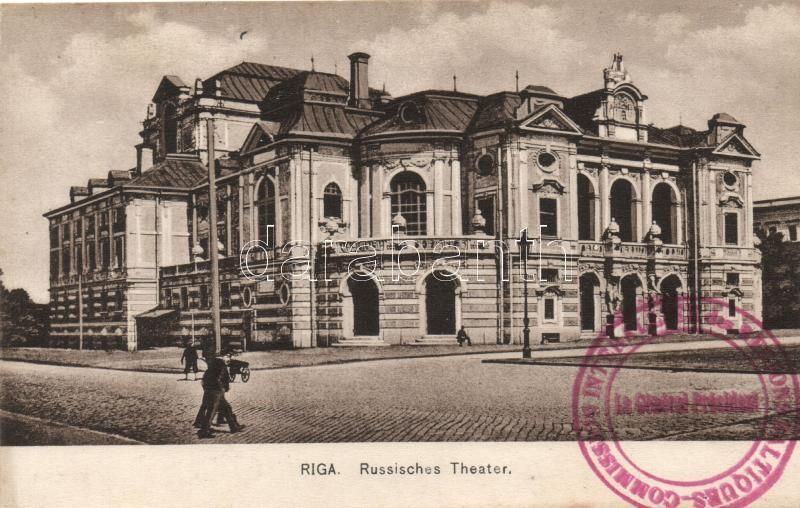 Riga, Russisches Theater / Russian theatre