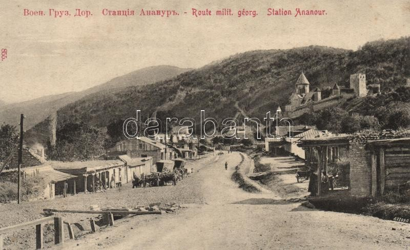 Ananuri, Ananour; Georgian military route