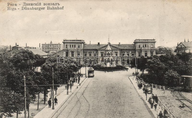 Riga, Dünaburger Bahnhof / railway station