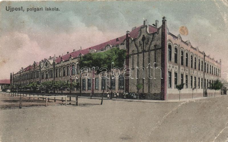Budapest IV. Újpest, polgári iskola