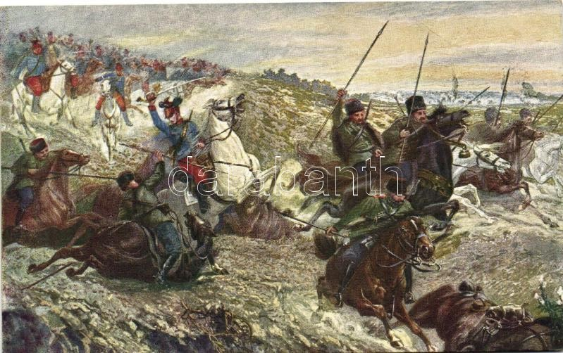 Escaping cossacks, Menekülő kozákok
