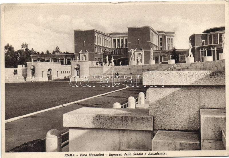 Rome, Roma; Foro Mussolini, Ingresso dello Stadio, Accademia / stadium, entrance, academy