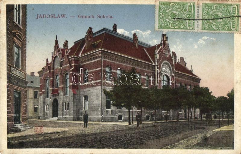 Jaroslaw, Gmach Sokola / Sokol building