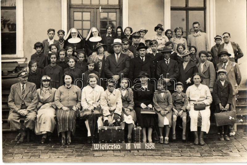 Wieliczka group photo