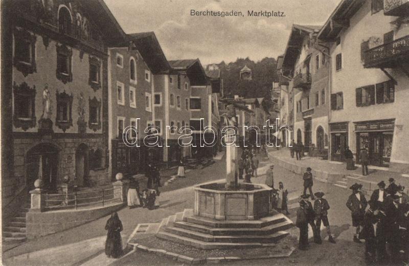 Berchtesgaden, Marktplatz / market place