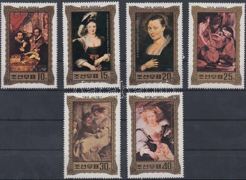 Rubens festmények sor, Rubens paintings set